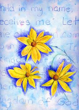 Coreopsis by Linda Pope