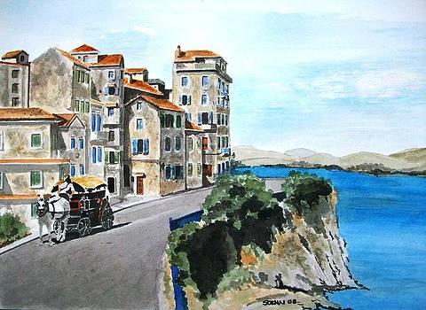 Corfu island by Samir Sokhn