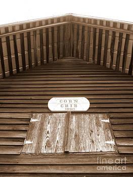 Corn Crib by Crystal June Norton