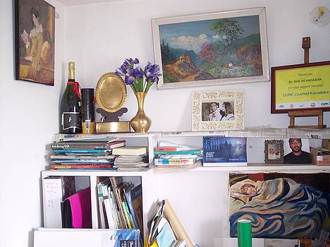 Corner Of My Studio by Iris Devadason