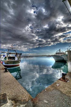 Corner of the Harbour by Tony Unwin