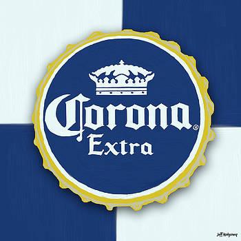 Corona Bottle Cap by Jeff Montgomery