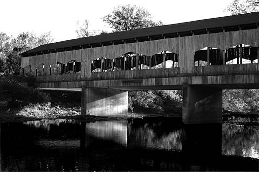 Corwin Nixon Covered Bridge by Anthony Wilder