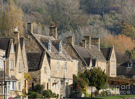 Cotswold Cottages by Andrew  Michael