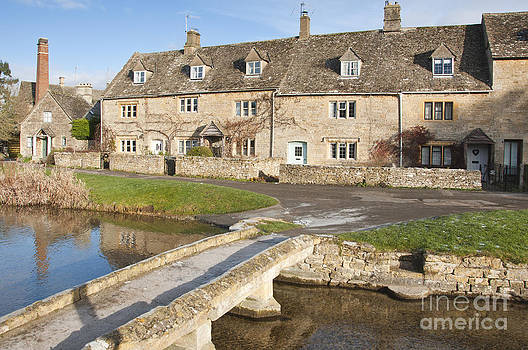 Cotswold village of Lower Slaughter by Andrew  Michael