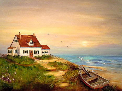 Cottage by the Sea by Barbara Pirkle