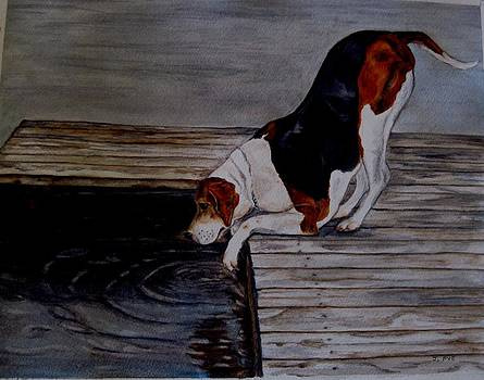 Joan Pye - Cottage Dog