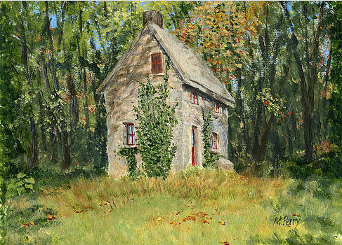 Cottage in the Woods at Fonthill by Margie Perry