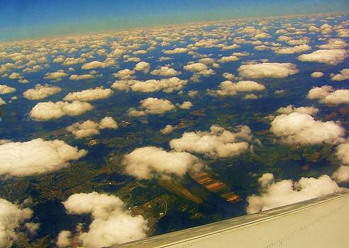 Cotton Clouds Over New Orleans by Nancy Mitchell
