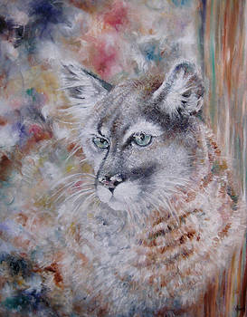 Cougars Colour Collage by NHowell