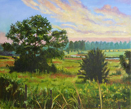 Country Landscape  by Gloria Smith