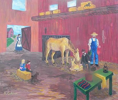 Country vet in 1850 by Rita Goldner