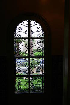 Nina Fosdick - Courtyard Window