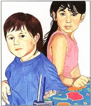 Cousins by Ana Tirolese