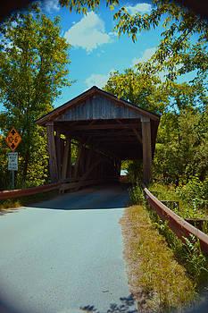 Covered Bridge Charlotte Vermont by Wendell Ducharme Jr