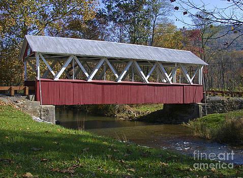 Tim Mulina - Covered Bridge in Fall