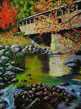 Covered Bridge by Suni Roveto
