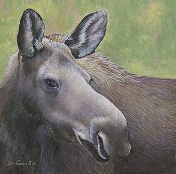 Dee Carpenter - Cow Moose