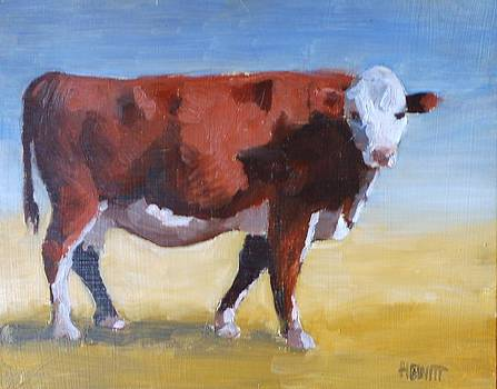 Cow by Philip Hewitt