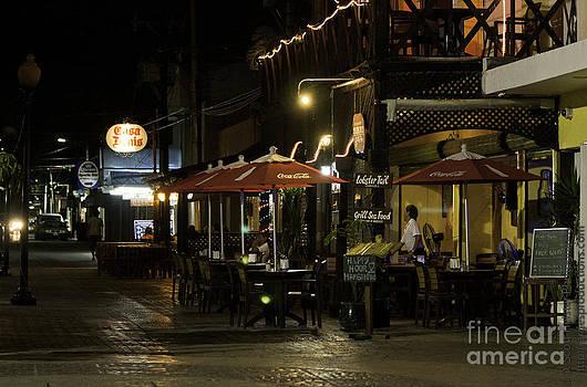 Cozumel in Lights by Scott Heister
