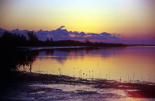 Crabbing Bay Sunset by J E T I I I