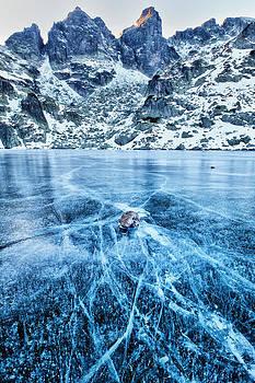 Cracks In the Ice by Evgeni Dinev
