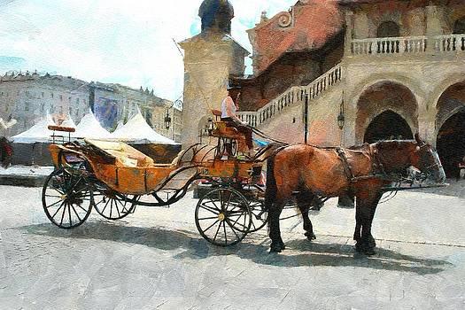 Cracovia cab by Boguslaw Florjan