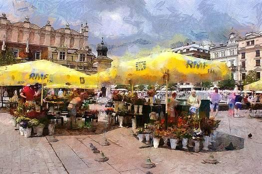 Cracovia main  market by Boguslaw Florjan
