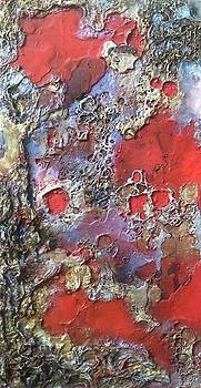 Craters and Pools of Lava by Lynda Stevens