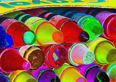 Bill Owen - crayons retro II