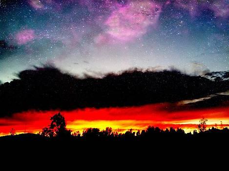 Crazy Sunset by Raven Janush