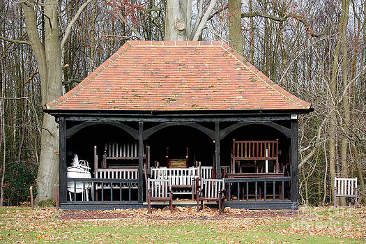 Simon Bratt Photography LRPS - Cricket pavillion filled with chairs