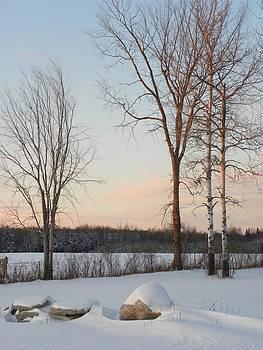 Peggy  McDonald - Crisp Winter Evening