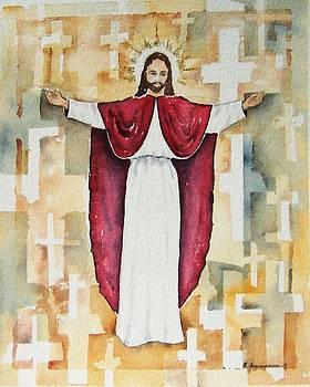 Cristo Rey by Regina Ammerman