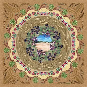 Crop Circle by Isobel  Brook Haslam