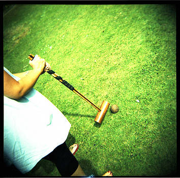 Croquet on the Lawn by Adam Judge