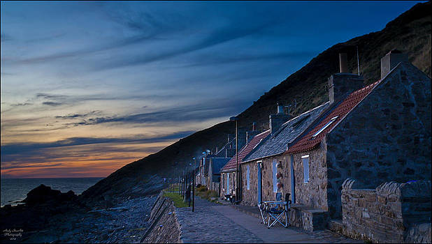 Crovie Sunset by Andy Stuart