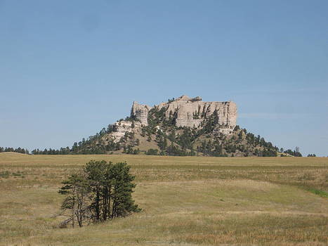 Crow Butte by J W Kelly