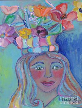 Crown of Flowers by Marlene Robbins