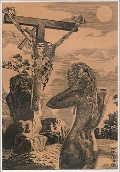 Crucifixion by Sirenko