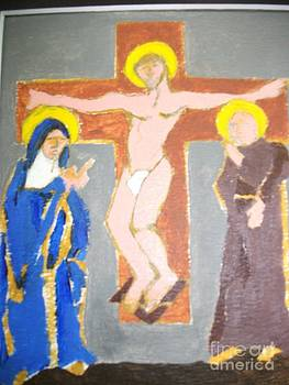 Crucifixtion by JR Leveroni