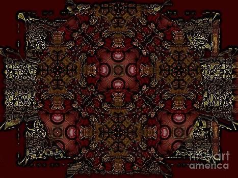 Cruz Mandala 1 by Sonia Glez