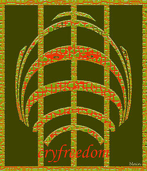 Cry Freedom by Normand blain Bureau