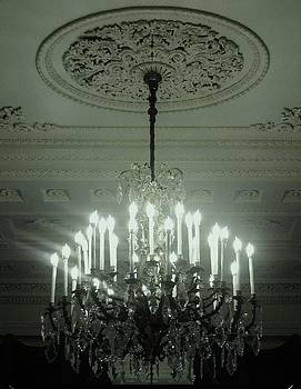 Crystal Chandelier by Nancy Mitchell