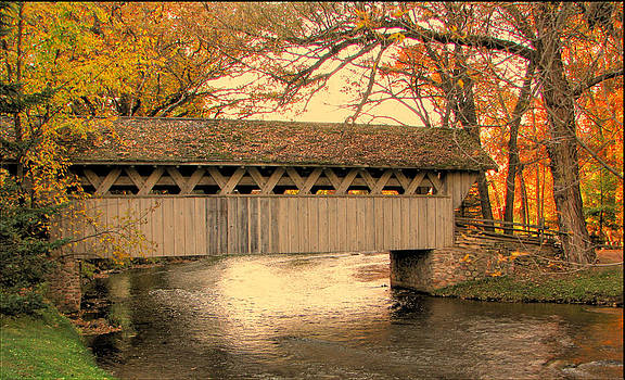 Crystal River Covered Bridge by Victoria Sheldon