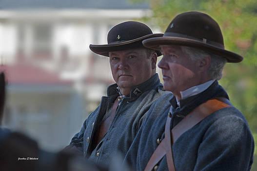 Jonathan Whichard - C S A  Co. H 4th Virginia Cavalry Black Horse Troop 150th Anniversary of Civil War Warrenton Va.