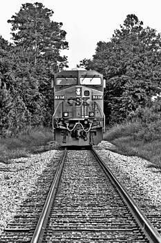 CSX Train by David Paul Murray