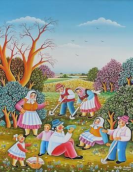 Cultivating maize by Rozalija Markov