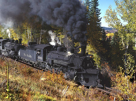 Cumbres and Toltec RR by John Wolf