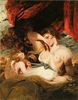 Sir Joshua Reynolds - Cupid Undoing Venus Belt